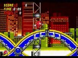 Chemical Plant Zone Act 1 (Knuckles) - 0 points - Low Score Challenge - Sonic 2 & Knuckles