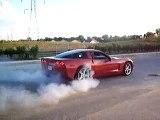 2005 C6 Z51 Corvette Burnout - 1