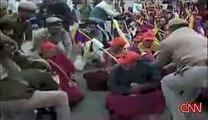 【チベット】中国への抗議 インド編1 [Tibet] protest movement in India