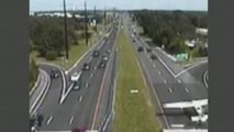 Small Airplane Makes Emergency Landing on Busy Highway