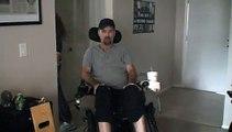 Reflexologist Ken Bryant helps paralyzed patients regain muscle control