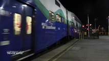 Amtrak, Sounder, BNSF Trains (an evening in South of Seattle)