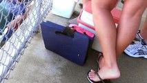 perfect feet in flip flops