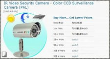 $ 22 US, IR Video Security Camera - Color CCD Surveillance Camera (PAL) 1st Shopping Channel