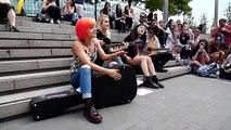 Hey Violet Acoustic hangout London 12.06.15
