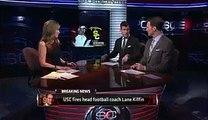 USC Trojans fire coach Lane Kiffin after 3 2 start, blowout loss   ESPN Los Angeles
