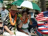 Year 2003 Waikiki parades - Aloha Festivals & King Kamehameha Day parade slideshow pictures