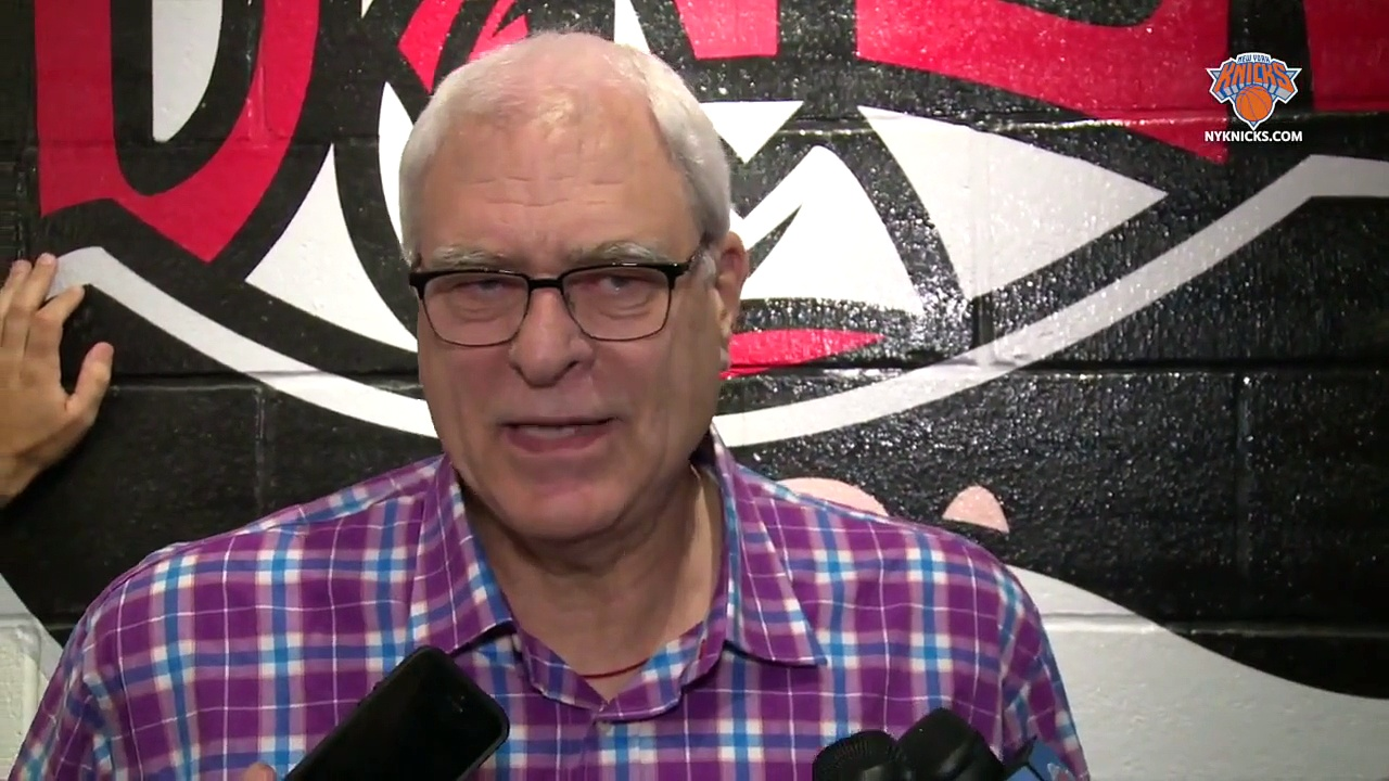Phil Jackson On Knicks' Free Agent Acquisitions _ July 14, 2015 _ 2015 NBA Free Agency