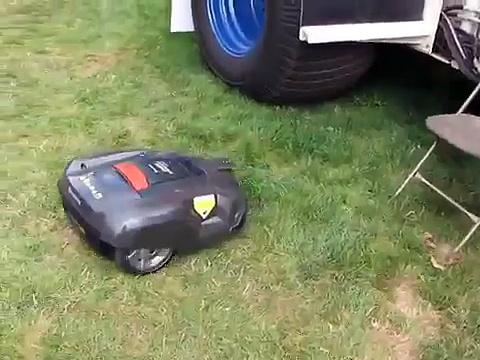 HUSQVARNA Lawn Mowing Robot