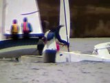 Europe dinghy sailing action in the Tipsy Series 2009