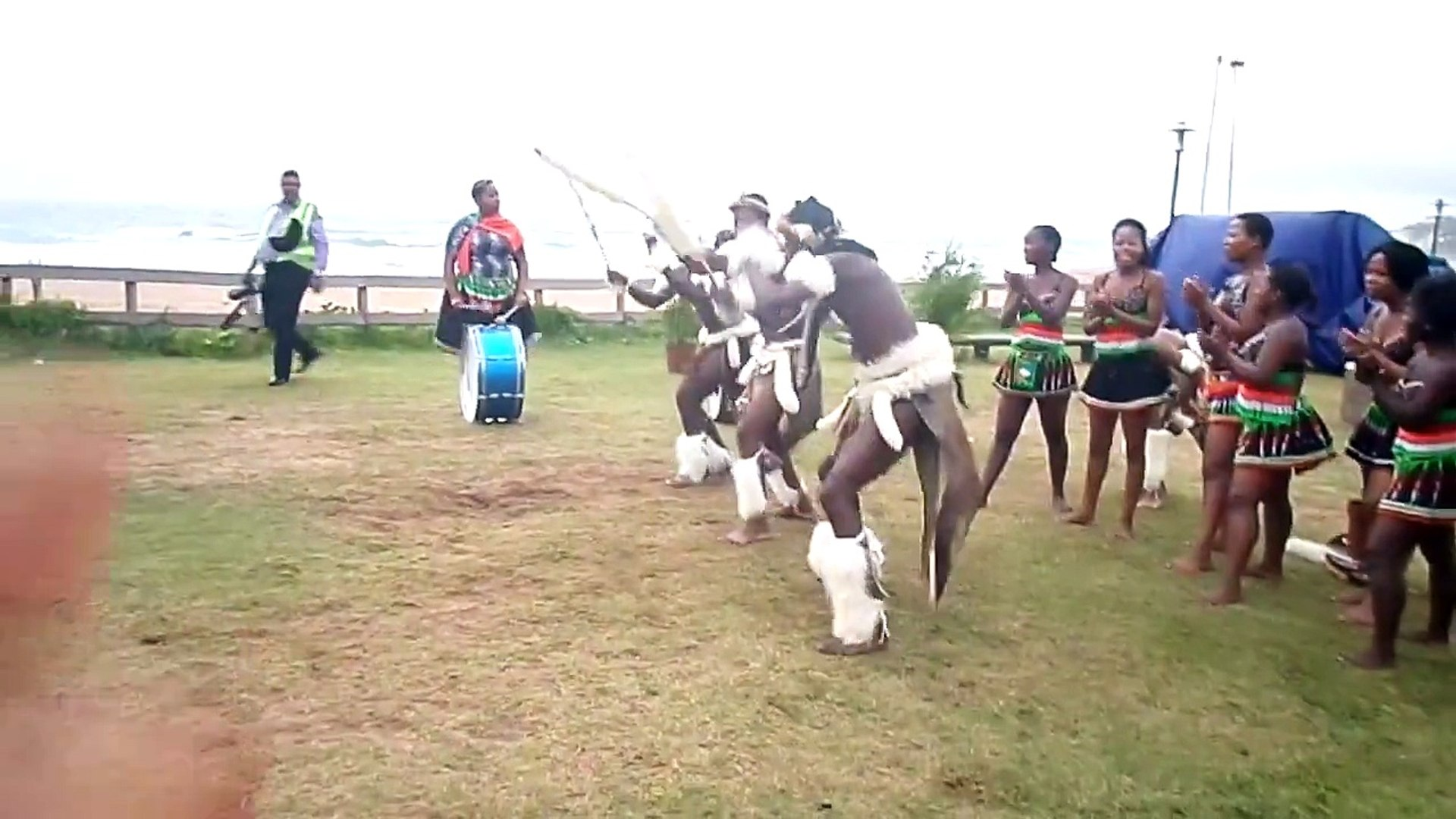 Traditional Zulu Dancers Durban, Kwa Zulu Natal, South Africa