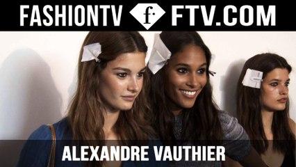 Alexandre Vauthier Backstage | Paris Haute Couture Fall/Winter 2015/16 | FashionTV