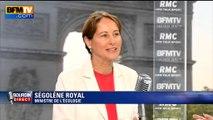 """Attentat déjoué: """"Il est important de montrer que les Français sont protégés"""", estime Royal"""