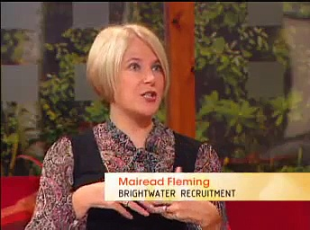 Jobs Club 9:  The Awkward Question – TV3's Ireland AM with Brightwater Recruitment
