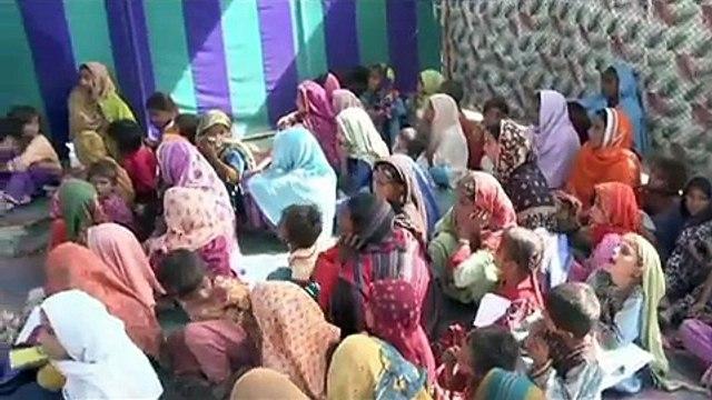 UNICEF Temporary Learning Centers in Balochistan, Pakistan