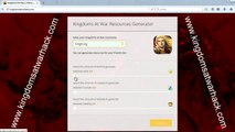 Kingdoms at war cheats - Gold, Crystals and Nobility generator