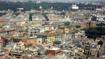 St. Peter's Square, Rome - Aerial View From Vatican Basilica