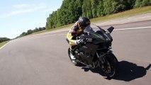 Essai Moto Revue : 332 km/h chrono en Kawasaki Ninja H2R
