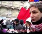 PARIS : MANIFESTATION CONTRE LE CHOMAGE ET LA PRECARITE 4 DEC 2010
