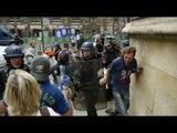 Arrests, clashes mark Bastille Day celebrations in France