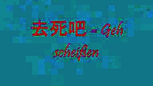Chinesische Schimpfwörter