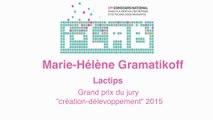 """i-LAB 2015 : Marie-Hélène Gramatikoff prix spécial du jury """"création-développement"""""""