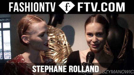 Stephane Rolland Backstage | Paris Haute Couture Fall/Winter 2015/16 | FashionTV