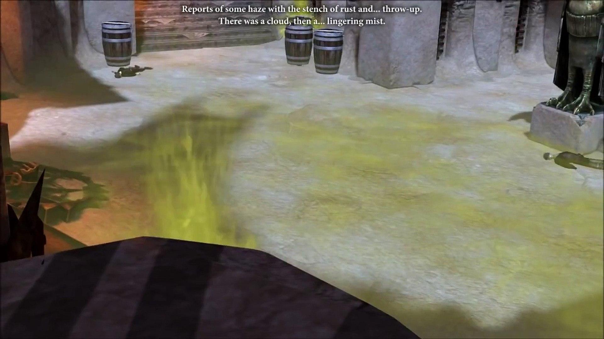 Dragon Age 2: Hawke playing a hero