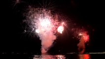 Feu d'artifice du 14 juillet à Nice