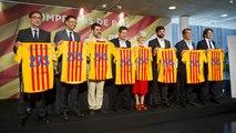 Los candidatos a la presidencia del Barça firman un acuerdo de compromiso con Catalunya