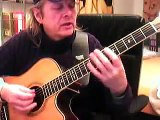 Chords ( C-Am-G) and Melody Guitar Lesson by Siggi Mertens