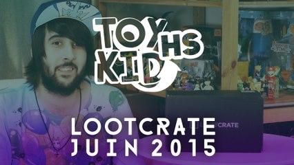LOOT CRATE Juin 2015 - Toykid HS