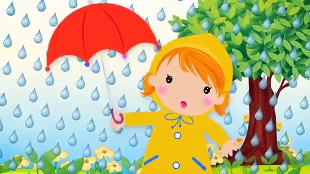 Rain, Rain, Go Away Nursery Rhyme With Lyrics - Cartoon Animation Rhymes & Songs for Children - TeS