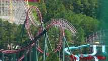 The Intimidator 305 roller coaster at Kings Dominion, Doswell, VA