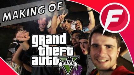 MAKING OF - GTA V - In Real Life