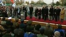 14 de JUN. Inauguración helipuerto presidencial Roberto Fiorito. Cristina Fernández.