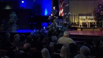 Chris Picco reflects and sings - excerpt from Ashley & Lennon Picco Memorial Service