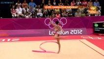 Daria Dmitrieva Ribbon AA Final - Olympic Games 2012
