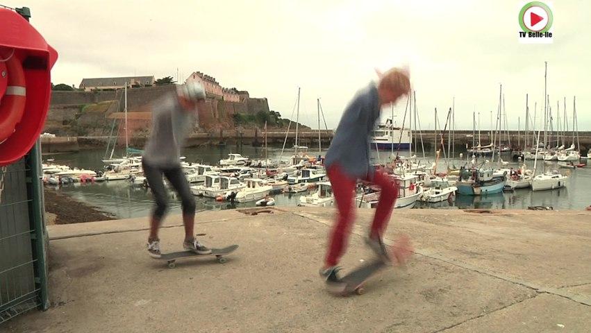 Skate: Les Seigneurs Bellilois - TVBI Belle-Ile Télévision