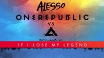 Alesso X Dimitri Vegas & Like Mike Feat. Steve Aoki - If I Lose My Legend (Be House Music Mashup)