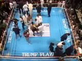 Mike Tyson v Michael Spinks, 91 second knockout, undisputed heavyweight championship 1988