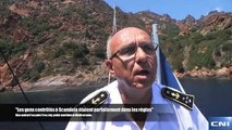 """Sécurité des loisirs nautiques entre Scandola et Girolata : """"Les gens contrôlés étaient parfaitement en règle"""""""