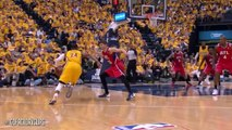 Hawks vs. Pacers Game 7: Paul George highlights - 30 points, 11 rebounds (5.3.14)