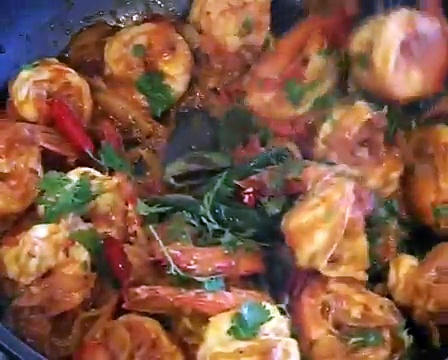 """ PRAWN CURRY "" Bajias Cooking"