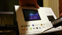Sony Xperia Z4 Tablet, Unboxing.