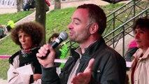 2e Marche contre Monsanto / Intervention Laurent Pinatel (confédération paysanne)