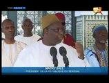 Korité 2015 : Macky Sall s'exprime sur les problèmes de sécurité au Sénégal
