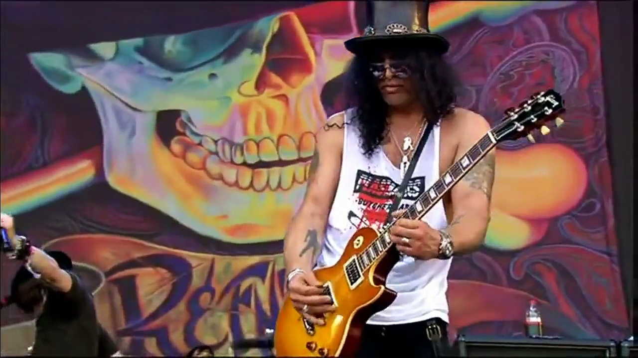 Sweet Child O' Mine – Slash Solo [2010][HD]
