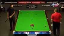 Aditya Mehta - Mark Selby (Frame 4) Snooker Paul Hunter Classic 2013 - Round 8