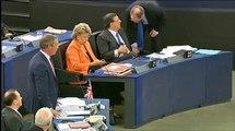 Nigel Farage zur Euro-Krise und zur Abschaffung der Demokratie durch die EU (Deutsche Untertitel)